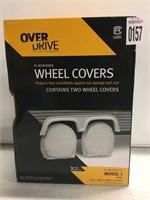 "OVER DRIVE WHEEL COVERS 24-26.5"" WHEEL DIAMETER"