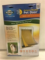 PETSAFE EXTREME WEATHER PET DOOR MEDIUM