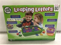 LEAP FROG LEAPING LETTERS AGES 3-6YRS