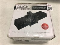 """QUICK PRODUCTS 2"""" RECEIVER ADAPTER FOR 4""""/4.5"""" RV"""