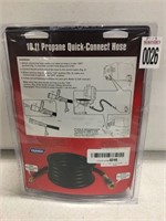OLYMPIAN 10FT PROPANE QUICK CONNECT HOSE
