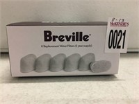 BREVILLE 6 REPLACEMENT WATER FILTERS
