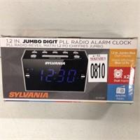 12 IN JUMBO DIGITAL RADIO ALARM CLOCK