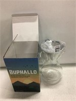 BUPHALLO GLASS CARAFE WITH STAINLESS STEEL