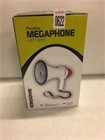 PORTABLE MEGAPHONE WITH SIREN