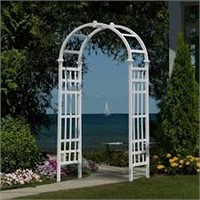 NEW ENGLAND ARBORS EDEN ATHENS ARCH(NOT ASSEMBLED)