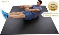 SQUARE36 LARGE EXERCISE MAT *6'X6'*