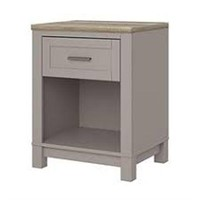 CARVER NIGHTSTAND (NOT ASSEMBLED)