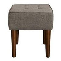 TUFTED VANITY STOOL (NOT ASSEMBLED)