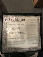 SOUTHSORE TWO PIECE QUILT SET TWIN XL