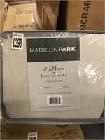 MADISON PARK KING DUVET COVER SET