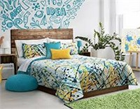 SAFDIE & CO SPLASH DOUBLE QUEEN QUILT SET