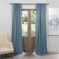 BOCH BLACKOUT CURTAIN DRAGONFLY TEAL 50 X 84""