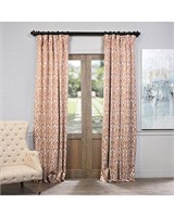 EXCLUSIVE FABRICS PRINTED BLACKOUT CURTAIN