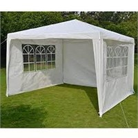 WEDDING PARTY TENT (NOT ASSEMBLED) (NO SIZE)