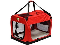 GO PET CLUB FOLDABLE PET CRATE