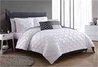 VCNY 5-PIECE COMFORTER SET *FULL/ QUEEN*