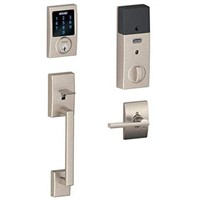 SCHLAGE HANDLESET WITH TOUCHSCREEN DEADBOLT SET