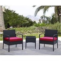 DG CASA 3-PIECE LOUNGE SEATING GROUP WITH CUSHION
