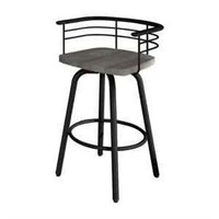 AMISCO SWIVEL BARSTOOL *NOT ASSEMBLED*