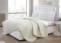 VC NEW YORK PATTERN QUILT SET, TWIN