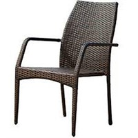 NOBLE HOUSE BROWN OUTDOOR WICKER CHAIRS