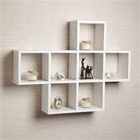 CUBBY LAMINATED SHELVING UNIT (NOT ASSEMBLED)