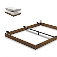 ZINUS WOOD BED FRAME FOR QUEEN (NOT ASSEMBLED)