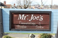 MR. JOE'S BARBER SHOP LIQUIDATION SALE