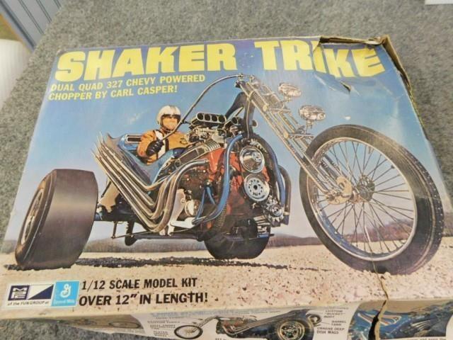 Carl Asper's Shaker Trike 1/12 scale kit, Model | Lenhart