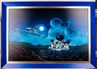 "Art Disney's Aladdin ""Flight Over Agrabah"""