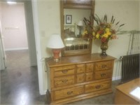 6 DRAWER DRESSER AND MIRROR