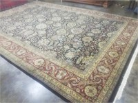 100% WOOL PILE HAND MADE IN INDIA 10.2X14.2