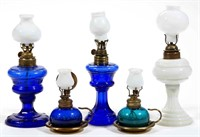Miniature colored night lamps