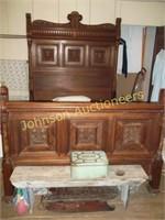 Single High Back Bed