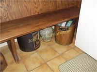 Lard Can, Copper Broiler