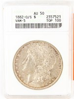July 31st ONLINE ONLY Coin Auction