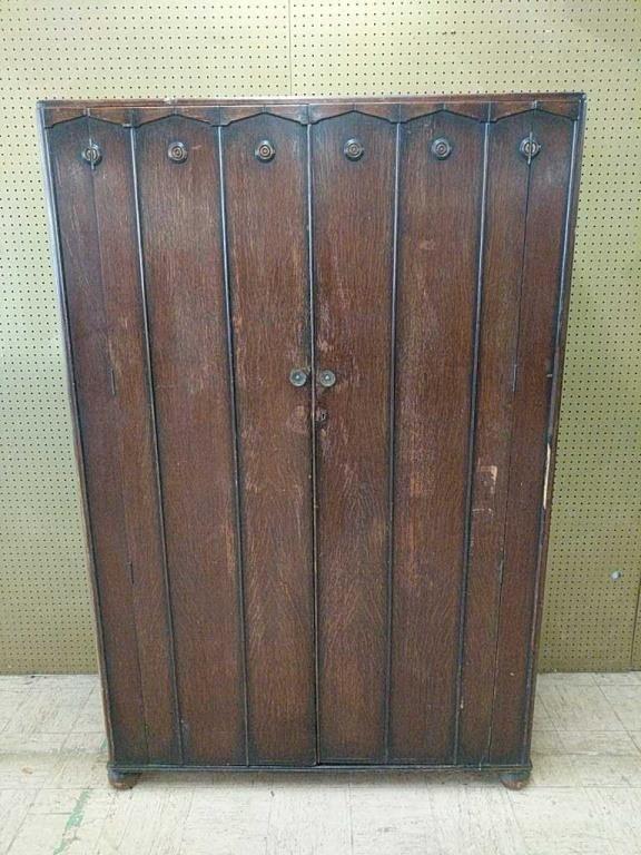 Vintage British Enfurn Wardrobe Hibid Auctions