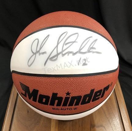 7713c9bbc721 Lot     25 - Basketball Signed by John Stockton  12