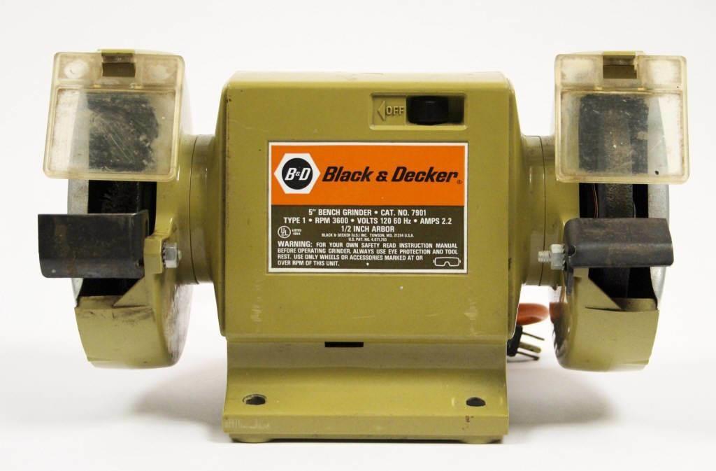 Outstanding 5 Black Decker Bench Grinder Hibid Auctions Machost Co Dining Chair Design Ideas Machostcouk