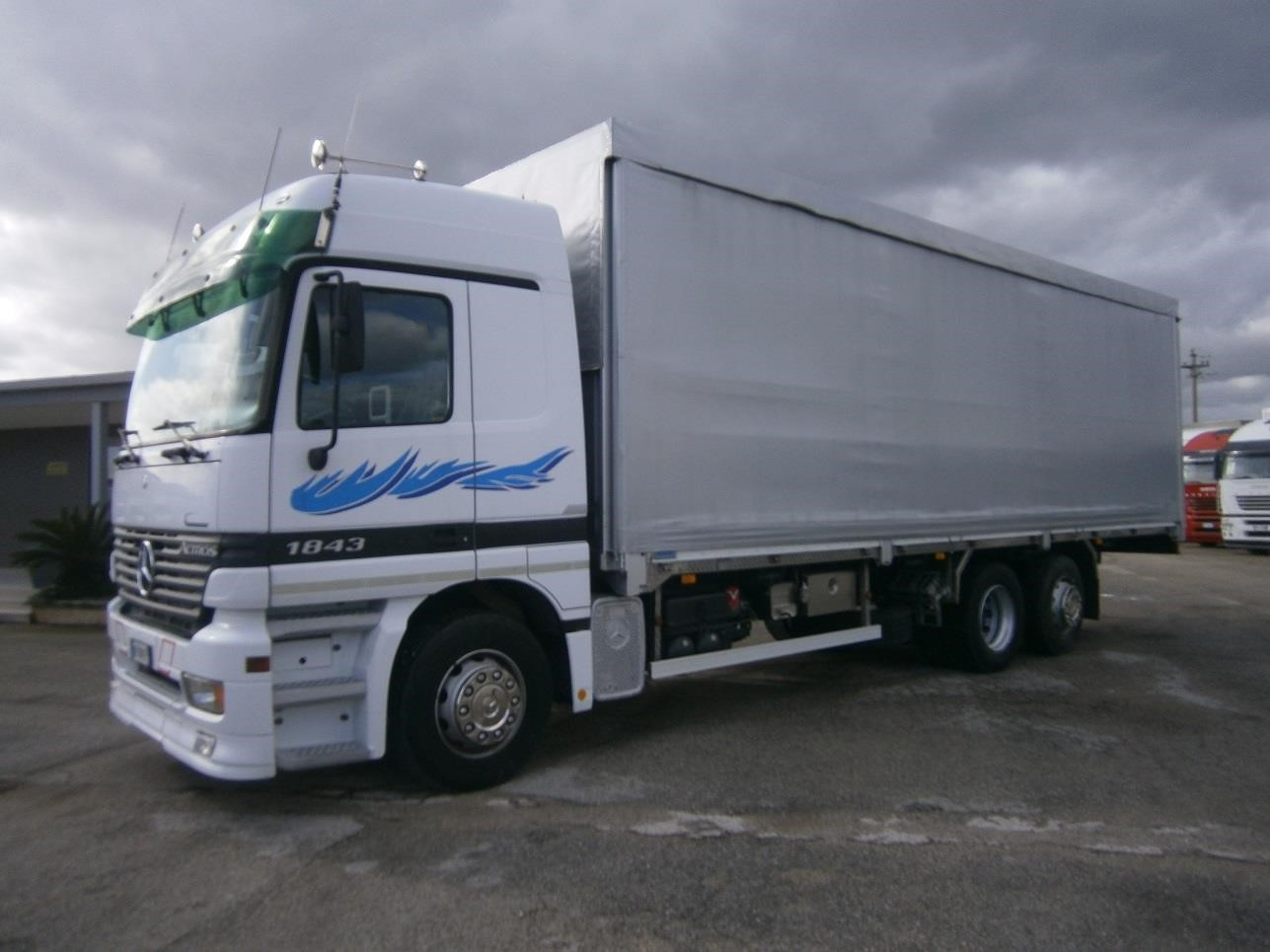 Mercedes-Benz ACTROS 1843 #Used