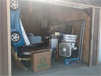 July Storage unit Auction