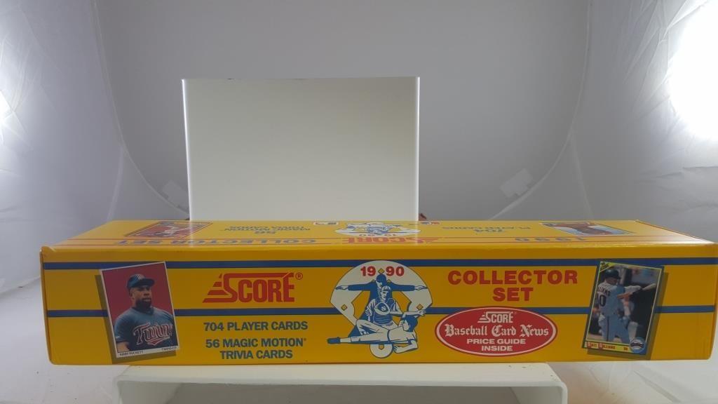 1990 Score Complete Set Baseball Cards Cgs Pros
