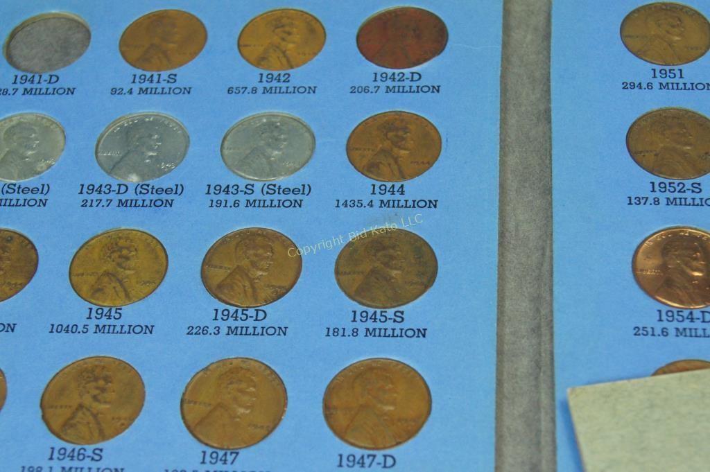 Lincoln Head Pennies (1911-1976) | Bid Kato