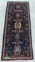 ARDEBIL HAND KNOTTED WOOL RUNNER