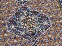 PAIR: ARDEBIL NEW HAND KNOTTED WOOL AREA RUGS