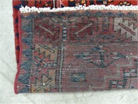 PERSIAN HAND KNOTTED WOOL AREA RUG