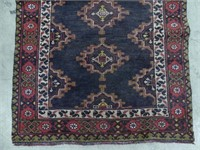 PERSIAN HAND KNOTTED AREA MAT