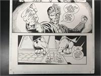 Batman Original Art Lot of 2, Mike Gustovich