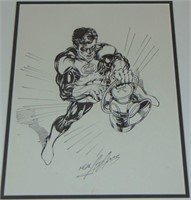 Neal Adams, Orig Green Lantern Illustration Art